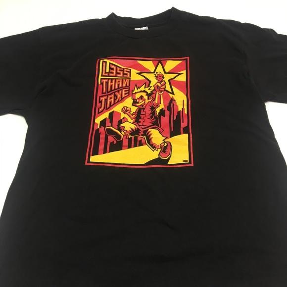 517e7c072 Delta Shirts | Less Than Jake T Shirt Vintage Band Men Tee Ml | Poshmark